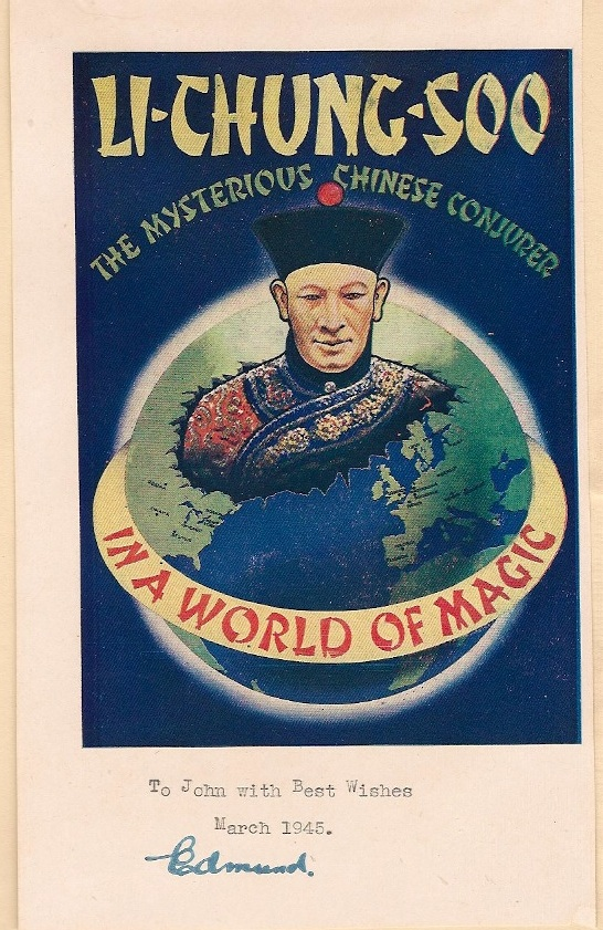 Bookplate of Li Chung Soo (Edmund Younger)