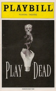Playbill from Play Dead