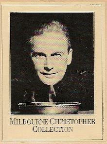 Bookplate of Milbourne Christopher