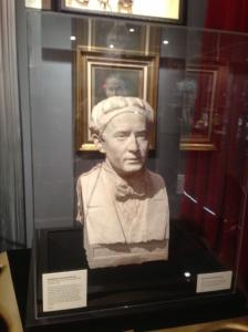Houdini Grave bust