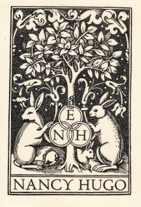 Nancy Hugo Bookplate