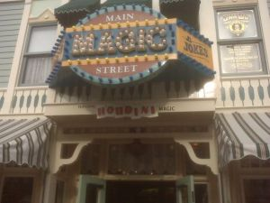 Houdini Magic's Disneyland magic shop