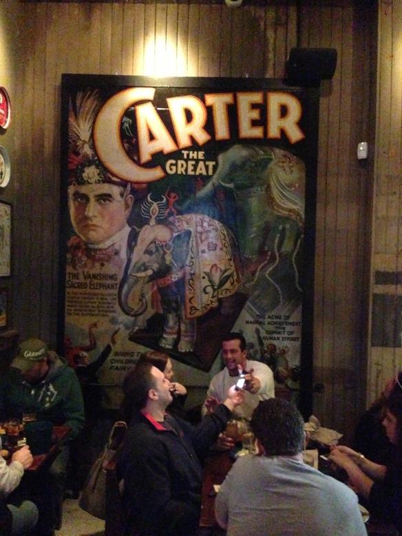 Carter the Great's Vanishing Elephant Poster